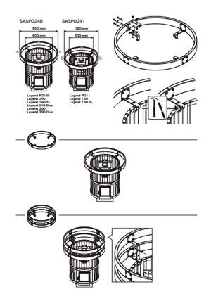 Конструкция колосниковой решетки для печи Harvia Legend 150